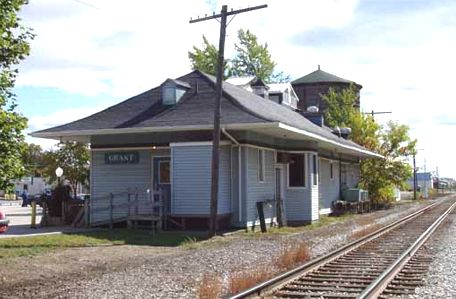 PM Grant MI Depot and Water Tower